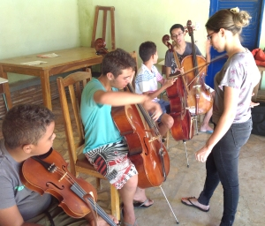 August 2014 cello class